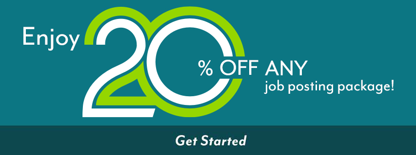 BUY TWO 30-DAY JOB POSTINGS, GET ONE FREE